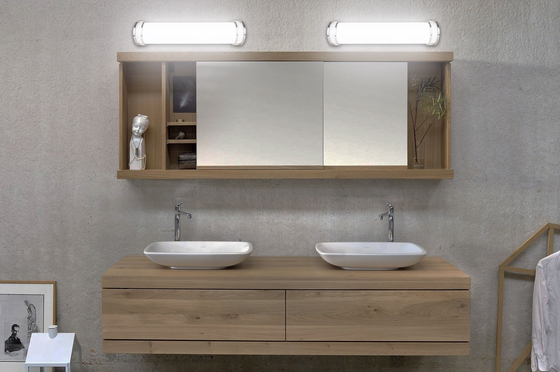 Why LED Vanity light bars are best suited for Washroom?