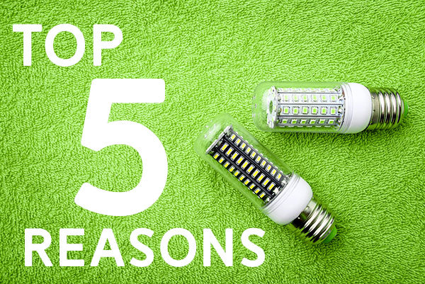 LED Lighting Top 5 Reasons
