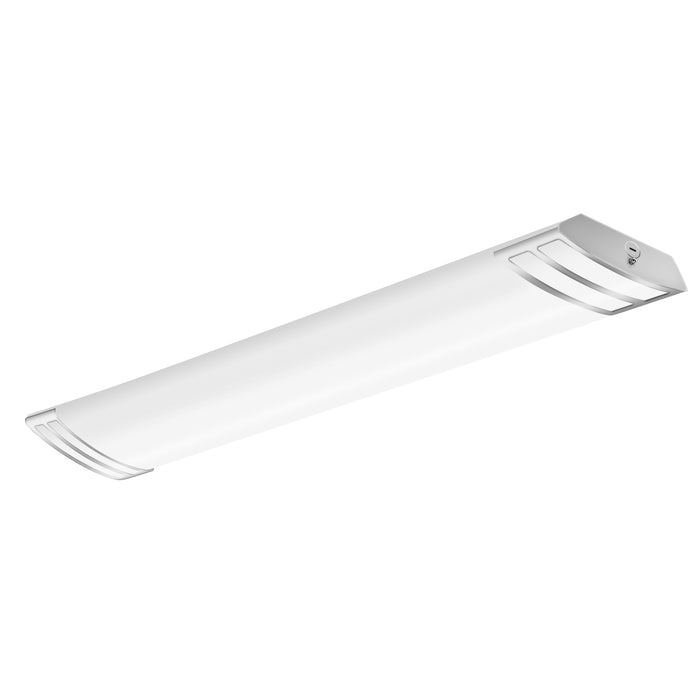 4000k Neutral White 50w 5500lm Puff Lights Fluorescent Replacement Laundry Hykolity 4ft Led Flush Mount Linear