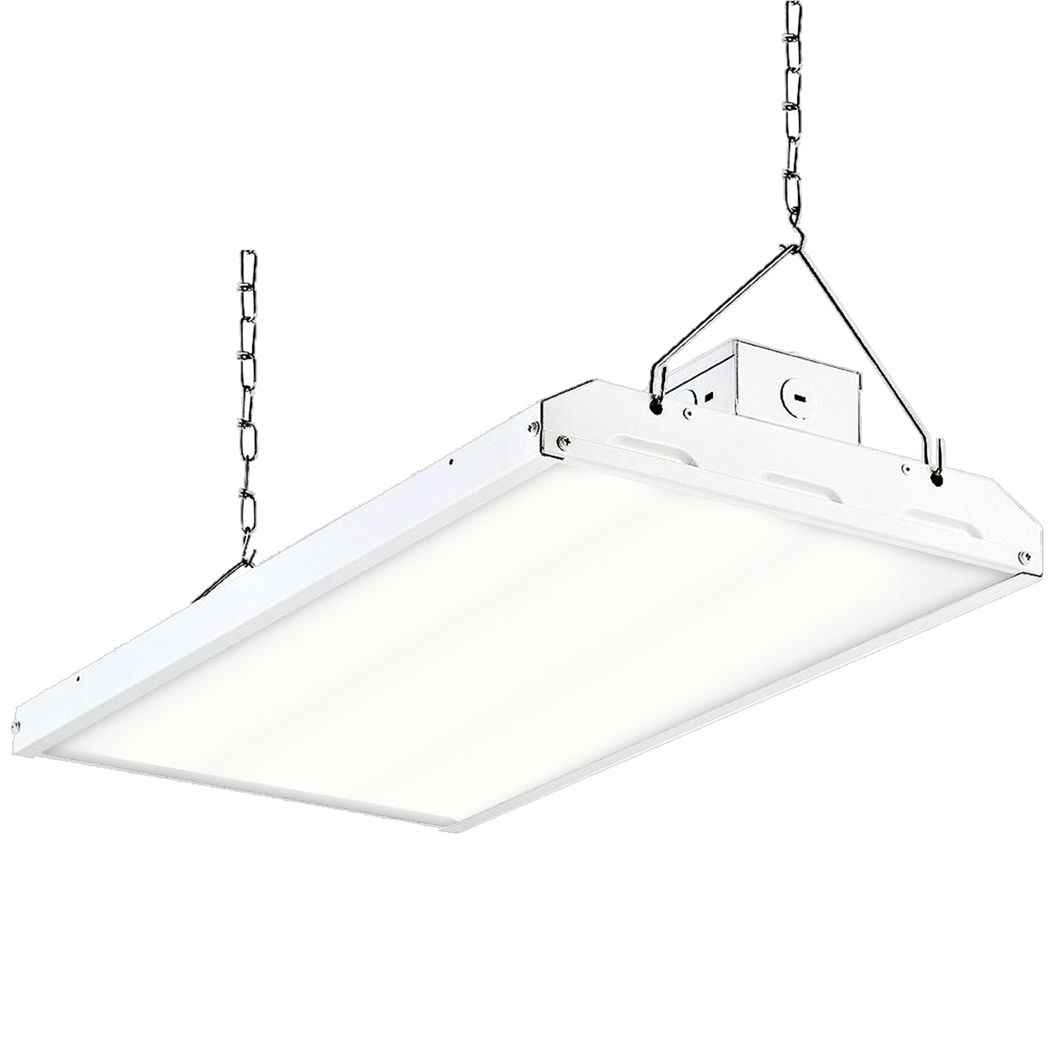 Hykolity 8FT Linear LED Light Fixture 64W 8400lm Commercial Grade High Output
