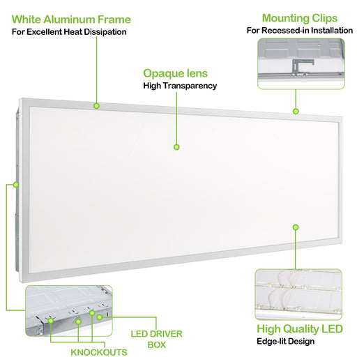 150W LED Parking Lot Light with Photocell, 19500lm 5000K, Slip Fitter Mount, High Voltage Input (340-480V)