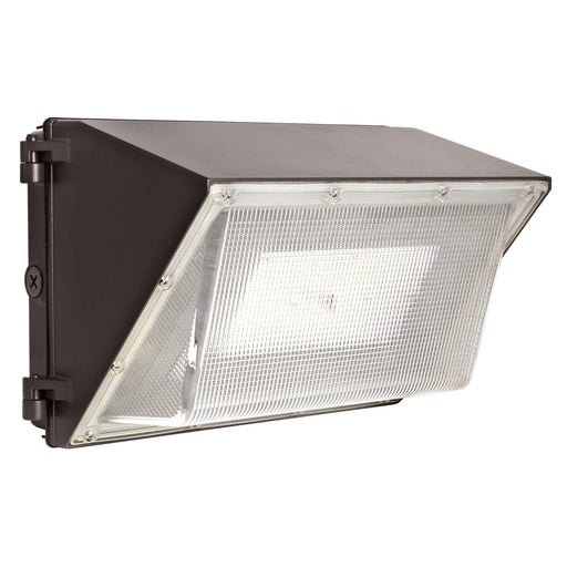 LED Wall Pack with Photocell, 40W 5200lm 5000K Daylight, DLC Complied