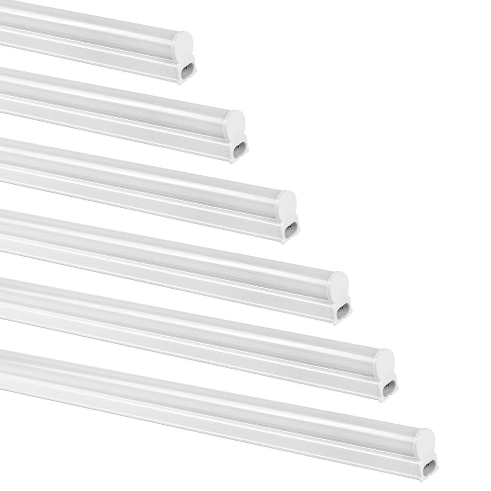 4 FT. T5 22W LED Tube Light, 2200 lm 5000K - 6 Pack