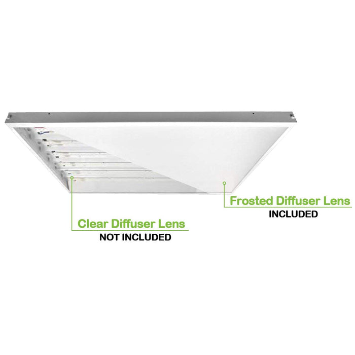 4 ft. 225W Linear LED High Bay Light Fixture, 29500 lm 5000K, Equivalent to 8-Lamp F54T5HO or 10-Lamp F32T8 Fluorescent Fixture