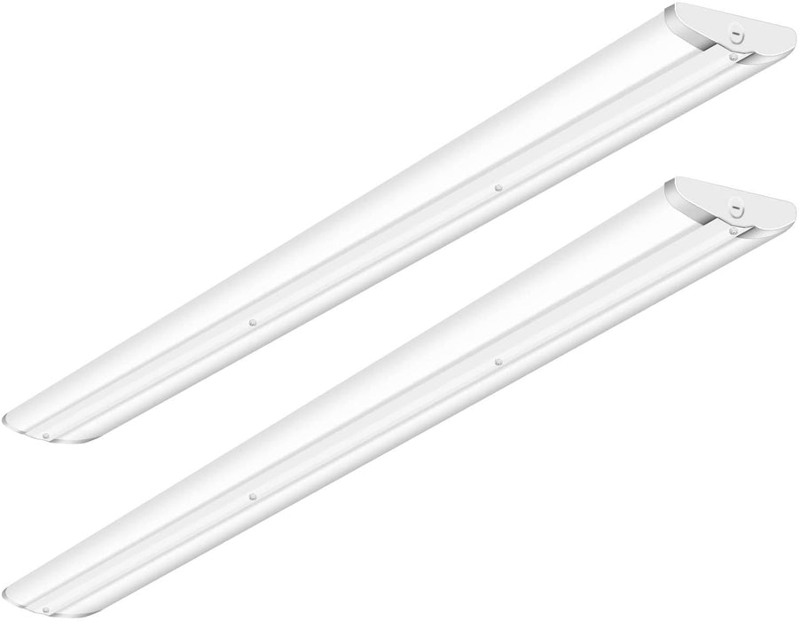 Hykolity 110W 8FT LED Shop Lights, 12600LM 5000K Daylight 8 Foot LED Wraparound Light, [6-lamp F32T8 Equiv.] Flush Mount Ceiling Lighting Fixtures for Warehouse, Garage, Office, ETL Listed 2 Pack