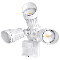 54W LED Security Light w/ PIR Motion Sensor, 5400 lm 5000K