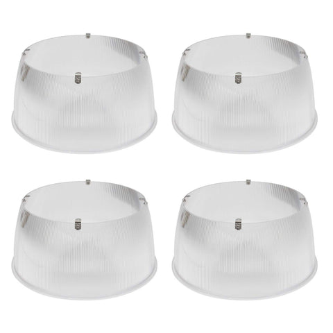 70º Beam Angle Polycarbonate Reflector for 150W LED UFO High Bay Lamp - Hykolity LED Lighting