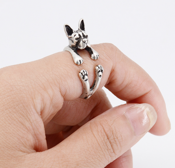 Boston Terrier Cuddly Ring