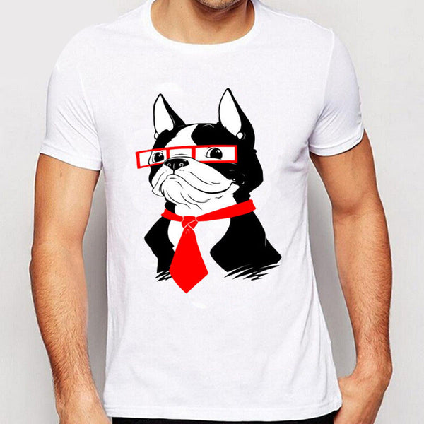 Boston Terrier Novelty Design Tee