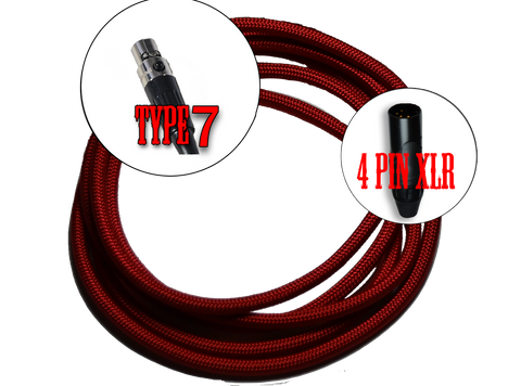 7 - Type 7 - 4 pin XLR mini