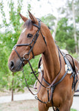 Royal Fancy Stitch Grackle Bridle