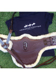 Royal Sheepskin Short Point Stud Girth
