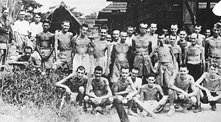 Japanese WWII POW Camp American Prisoners