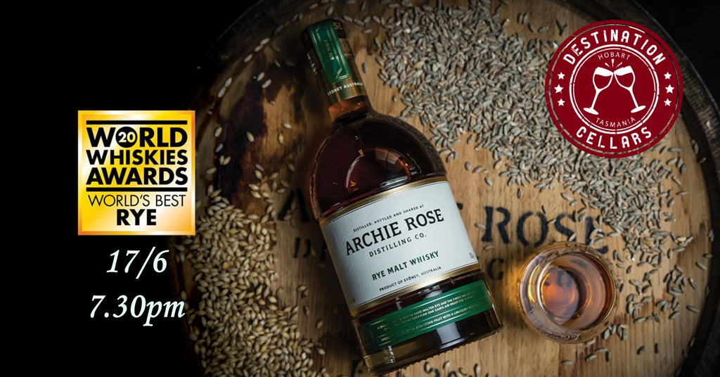 Archie Rose Online Rye Whisky Event 17/6/2020