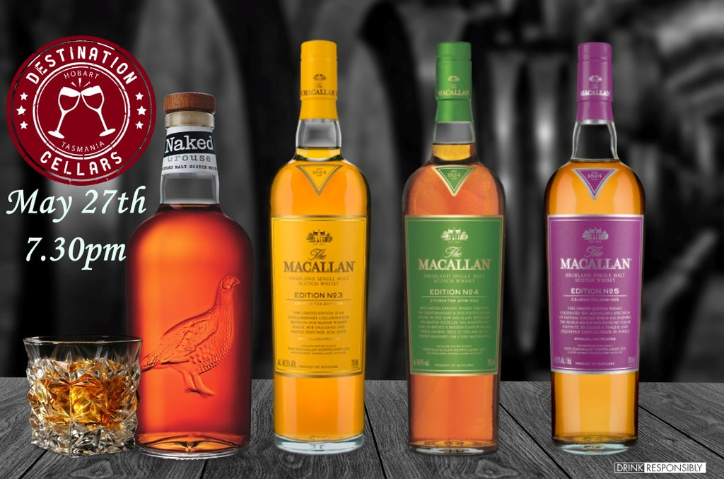 The Macallan Editions Online Whisky Event with National Brand Ambassador Andy Buntine 27 05 '20