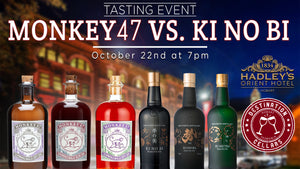 Monkey 47 & KiNoBi Gin Event 22.10.2020