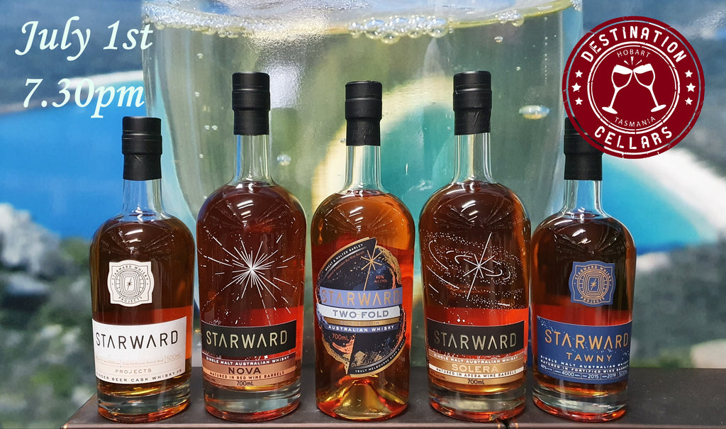 Starward Online Whisky Event 1/7/2020