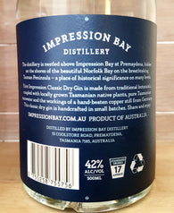 First Impression 42% Tasmanian Dry Gin