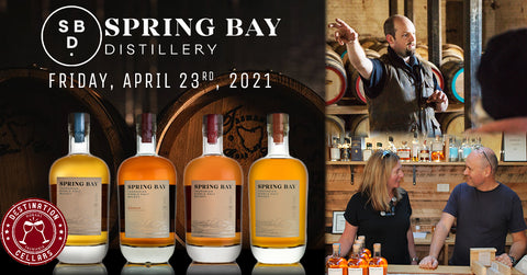 Rare Release Spring Bay Tasmanian Whisky Event at Hadley's Hotel April 23rd