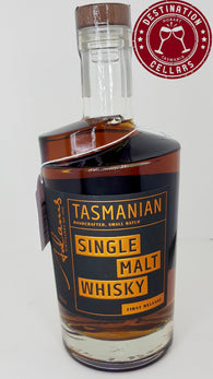 Adam's 1st release Port Cask Tasmanian Single Malt Whisky