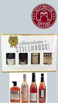 Jim Beam American Stillhouse Collection 4x50ml Box Set