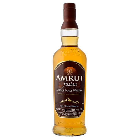 Amrut Fusion Single Malt Whisky 50% 700ml