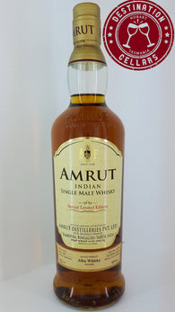 Amrut Limited Edition Ex Rye Cask 60% Single Malt Whisky