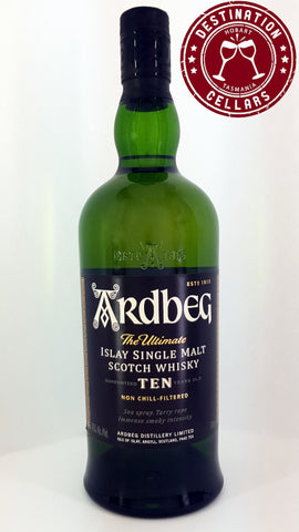 Ardbeg 10YO Single Malt Whisky 700ml