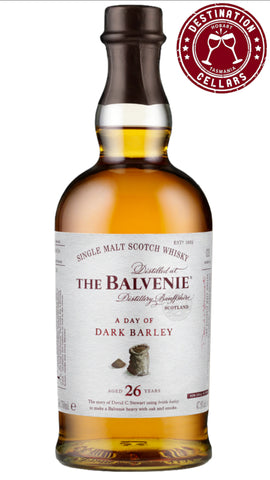 The Balvenie A Day of Dark Barley 26-year-old Single Malt Whisky 700mL