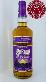 BenRiach 22YO Dark Rum Finished Single Malt Whisky
