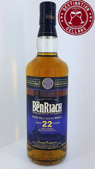 BenRiach 22YO Dunder Rum Finished Single Malt Whisky