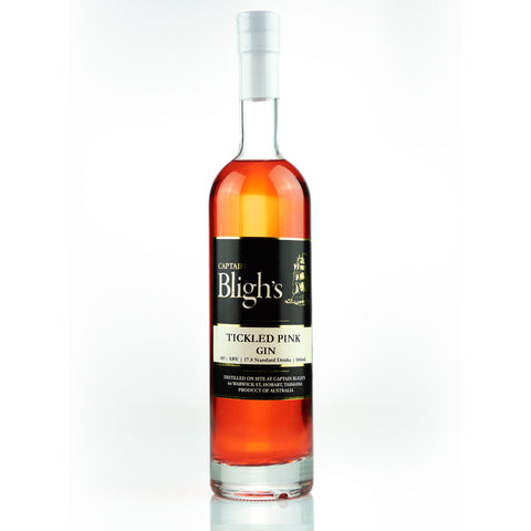 Captain Bligh's Tickled Pink Gin - Destination Cellars