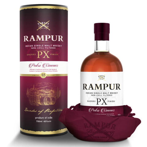 Rampur Single Malt Whisky PX Sherry Cask