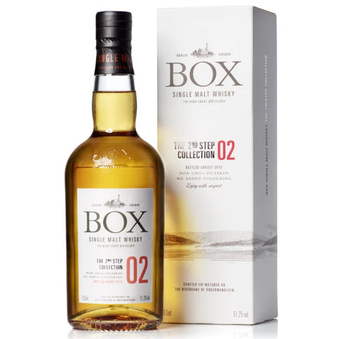 Box Whisky The 2nd Step No 2 51.2% 500ml