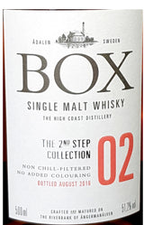 Box Whisky The 2nd Step No 2