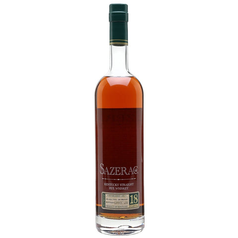 Sazerac Rye 18 Year Old Whiskey 45% 750ml