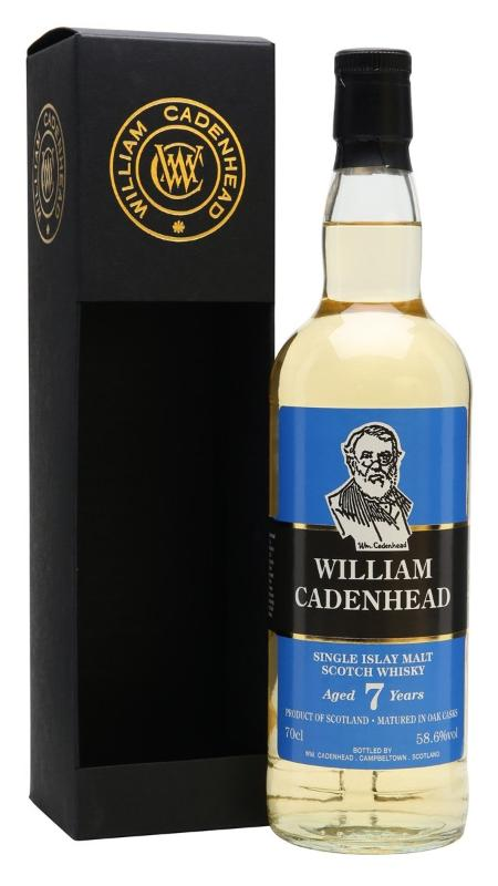 William Cadenhead 7-Year_Old Cask Stregth Islay Single Malt