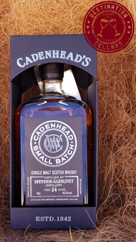 Cadenheads 24-Year_Old Cask Strength Speyside-Glenlivet Single Malt