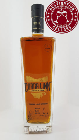 Corra Linn 1st Release Tasmanian Single Malt Whisky 54.5% 700ml