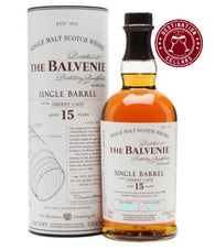 Balvenie Single Barrel Sherry Cask 15 Year Old Single Malt Whisky 700mL