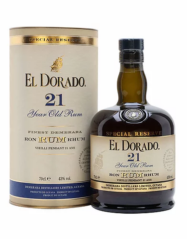 El Dorado 21 Year Old Rum 700ml