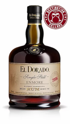 El Dorado Single Still Enmore Rum 750ml