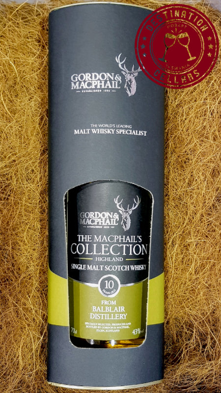 Gordon & Macphail 10 Year Old Single Malt from Balblair Distillery
