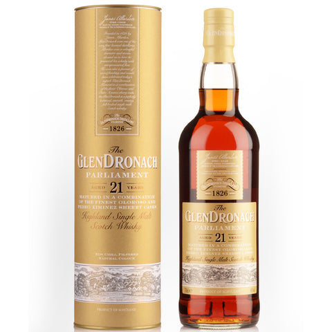 Glendronach 21 Year Old Parliament 48% 700ml Single Malt Whisky