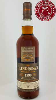 GlenDronach 1990 52.1% 27-Year-Old Single Cask