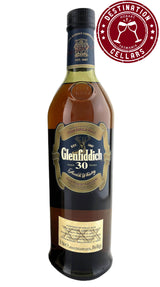 Glenfiddich 30 Year Old Limited Edition 40% Single Malt Whisky - Blue Tin