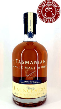 Launceston Distillery H17:08 62% Bourbon Cask Tasmanian Single Malt Whisky 500ml