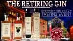 The Retiring Gin event 11.12.2020