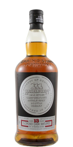 Hazelburn 2007 13YO Oloroso Sherry 50.3% Single Malt Whisky 700ml