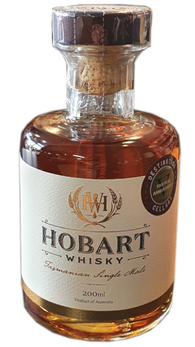 Hobart Whisky ex-Bourbon/ex-Oloroso Sherry Cask 61.3% 200ml Five Year Anniversary Whisky